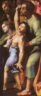Raphael: The transfiguration (detail)